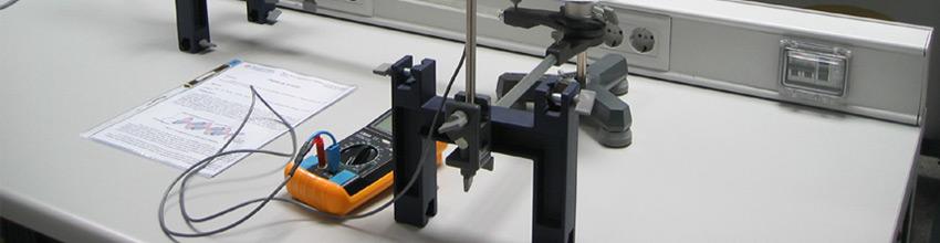 Materiales para ser usados en un laboratorio de fisica