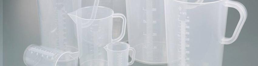 Materiales de Laboratorio hechos de plástico
